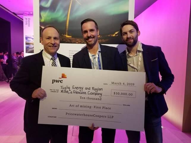 Tugliq Energy and the Raglan Mine take home 1st prize!