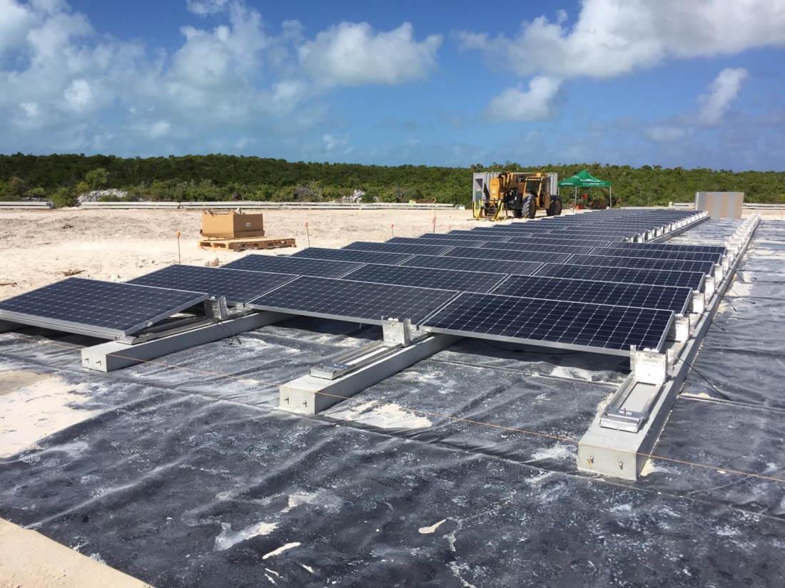 Projet de microréseau haute pénétration aux Bahamas