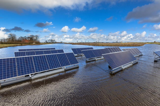 floating solar - Solar
